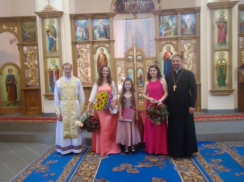 Учасники благодійного концерту у Вінниці УГКЦ