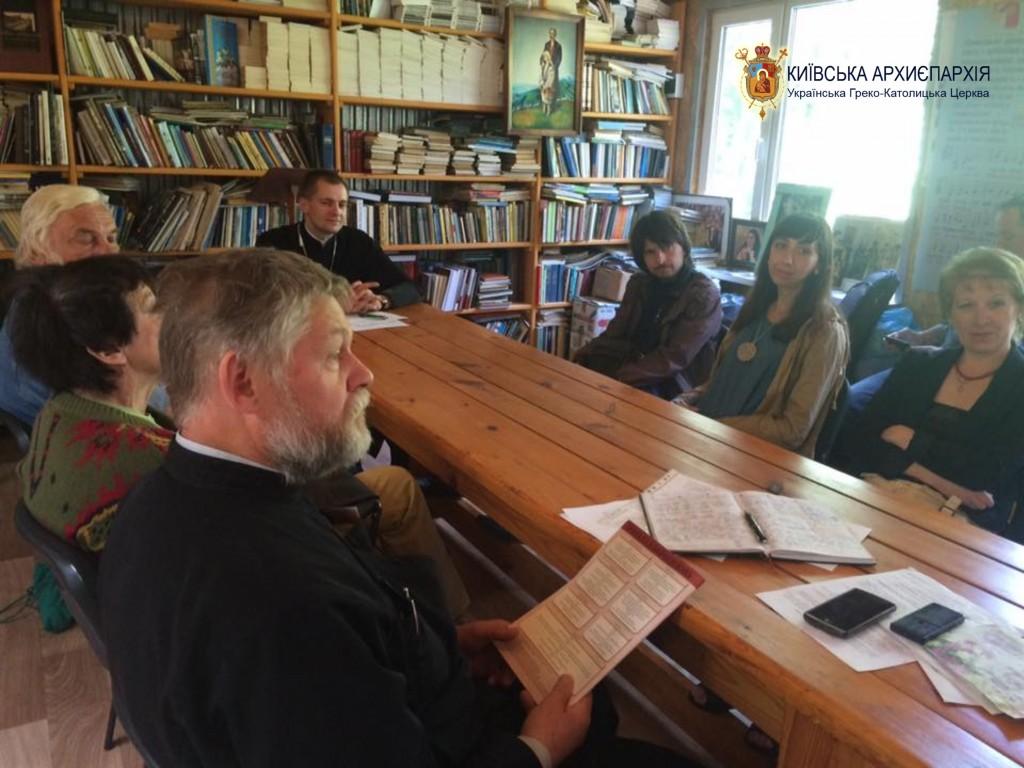 Журналісти Аскольдова могила УГКЦ
