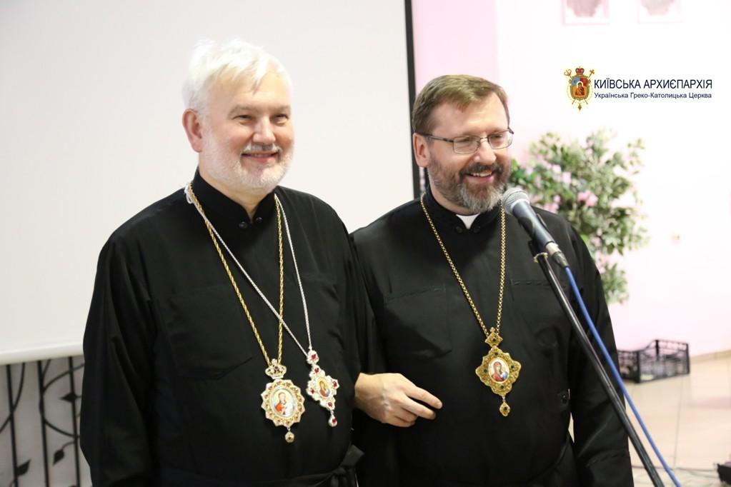 Блаженніший Святослав вітає Владику