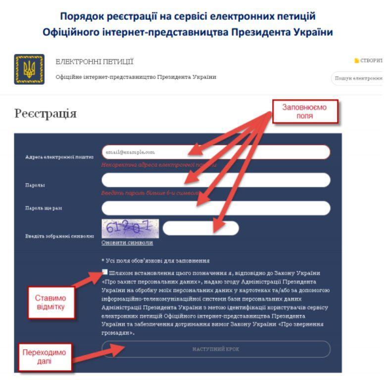 Реєстрація 1