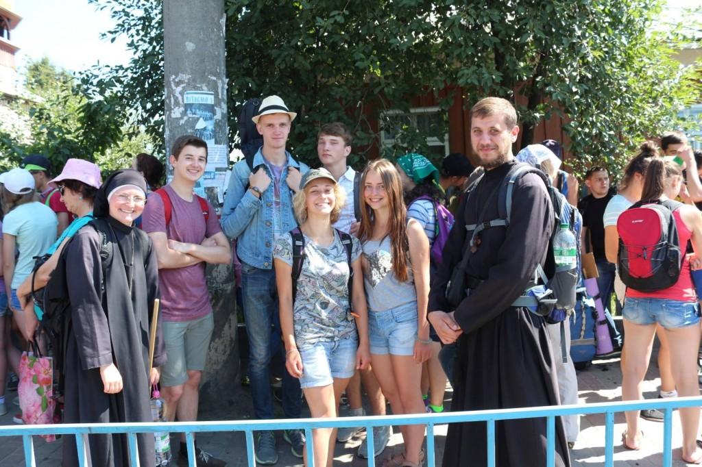 Паломники УГКЦ з Вінниці