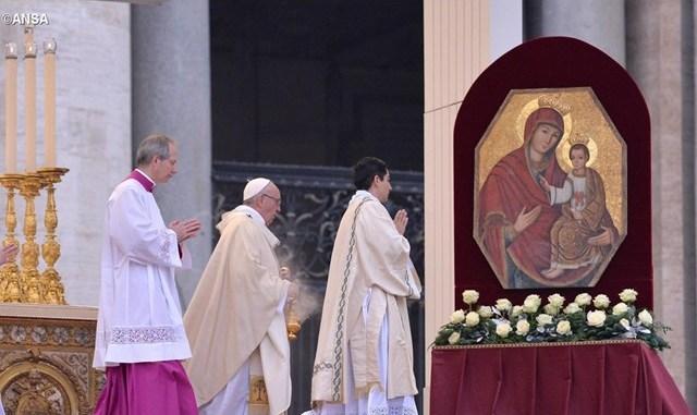 Ікона Двері милосердя Папа
