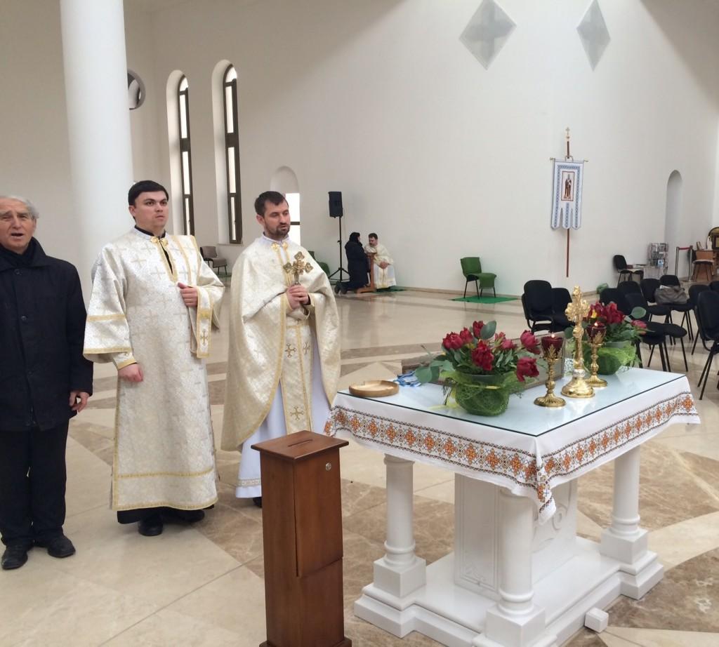 Панахида Патріарший собор