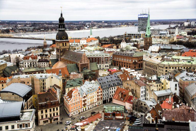Три столицы Балтии!