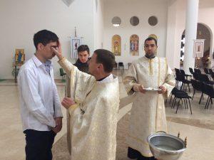 хрещення дорослого